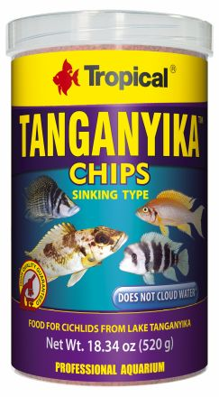 Tropical Tanganyika chips 130gm
