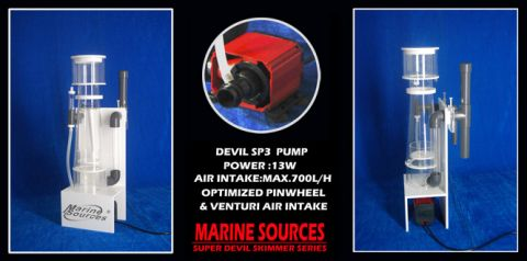 Marine Sources DHO-850C Hang On Skimmer 550L