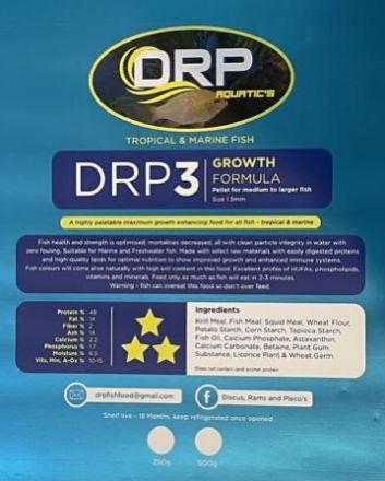 DRP Fish Food 500g #3