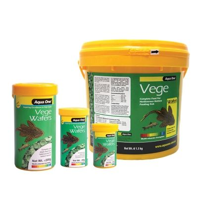 Aqua one Veggie Algae Wafers 1kg