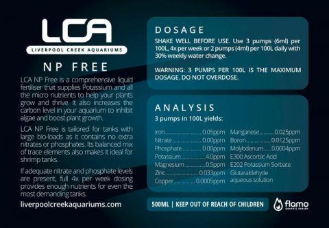 LCA NP Free 500ml