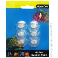 Aqua One Airline suction cup 6 pack