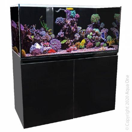 Aqua One ReefSys 255 Aquarium and cabinet BLACK