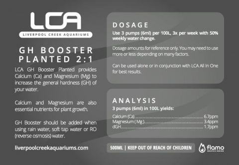LCA GH+ Booster 500ml