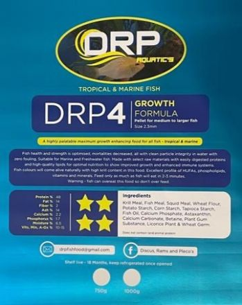 DRP Fish Food 750g #4