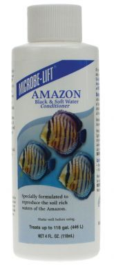 Microbe Lift Amazon Black & Soft Water Conditioner 118ml