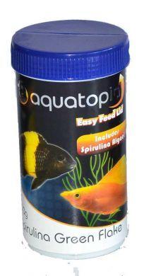 AquaTopia Spirulina Green Flakes 180g