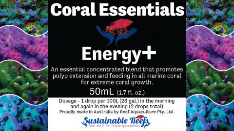 Coral Essentials Energy+ 50ml