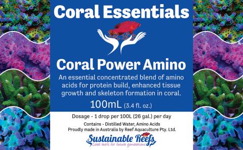 Coral Essentials Coral Power Amino 100ml