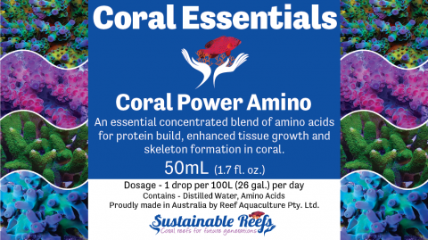 Coral Essentials Coral Power Amino 50ml