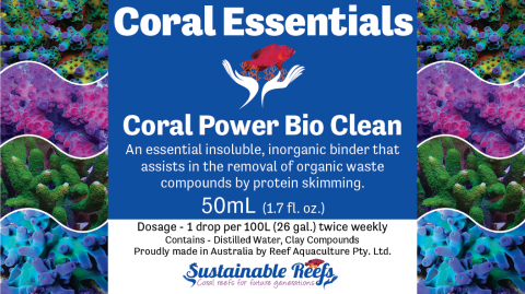 Coral Essentials Coral Power Bio Clean 50ml