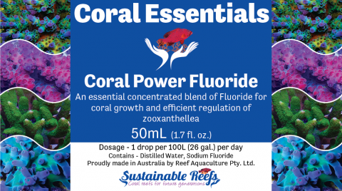 Coral Essentials Coral Power Fluoride 50ml