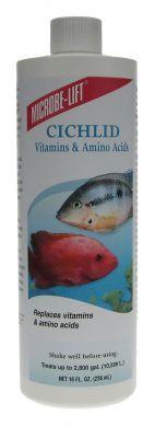 Microbe Lift Cichlid Vitamins & Amino Acids 473ml