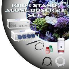 GHL KHD & GHL Doser 2.1 SA (set white)