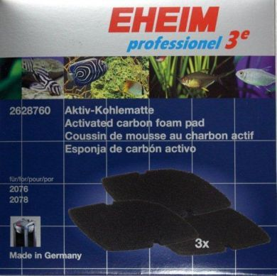 Eheim Professionel 3e 2076/2078 Carbon Filter Pads (3pk)
