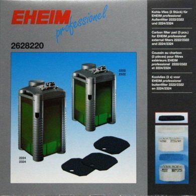 Eheim Professionel 2224/2324Carbon Filter Pads (3pk)