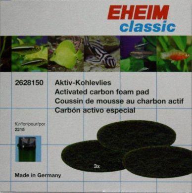 Eheim Classic 2215 Carbon Filter Pads (3pk) 2628150