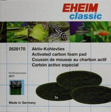 Eheim Classic 2217 Carbon Filter Pads (3pk) 2628170