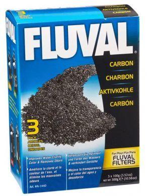 Fluval Carbon - 3 x 100gm