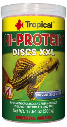 Tropical Hi-Protein Discs 500gm