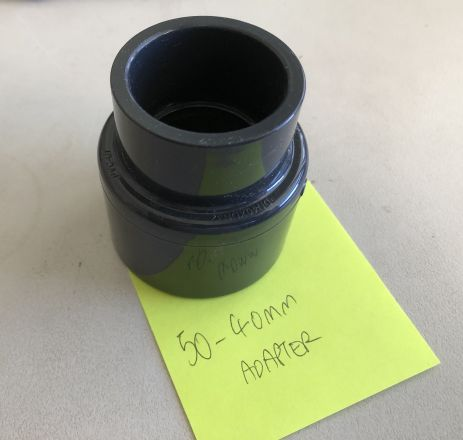 50MM TO 40MM ADAPTER