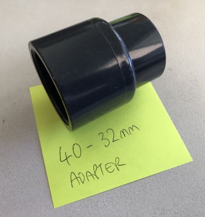 40MM TO 32MM ADAPTER