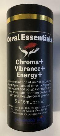 Coral Essentials Black label triple pack 15ml bottles