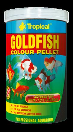 Tropical Goldfish colour pellet 36gm