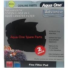 Aqua one Nautilus 2700UV Sponge Cartridge 35ppi black