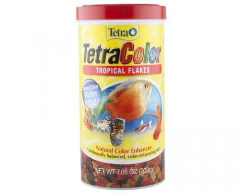 Tetra Colour Tropical Flake 200gm