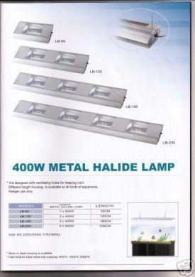 Aqua Medic 400W New Aquarium Metal Halide Fitting 120cm Long With 14000K