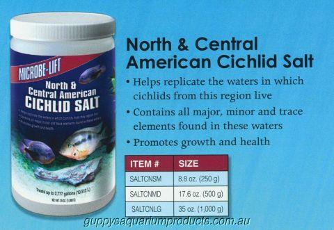 Microbe-Lift North & Central American Cichlid Salt 500gm