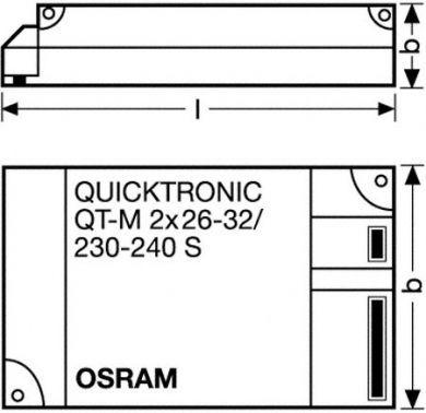 Osram T5 2x 39W Electronic Ballast