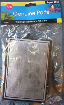 Aqua one HF600 Carbon Cartridge 2 pack PES 175