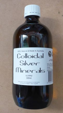 Colloidal Silver Minerals 500ml