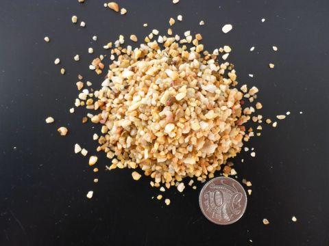 Natural Colour light Brown Gravel 2mm 2kg bag
