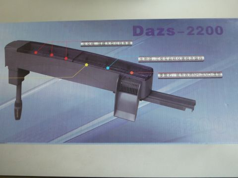 Dazs above tank filter