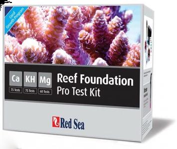 Red Sea Reef Foundation Pro Test Kit CA ALK MG