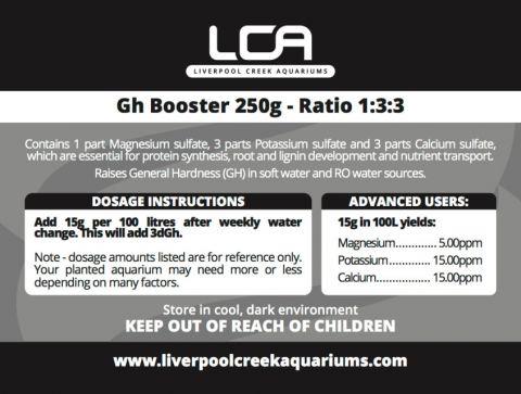 LCA GH+ Booster 500g