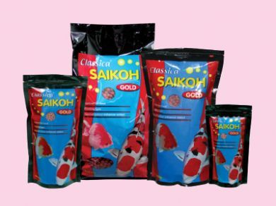 Saikoh Colour Goldfish and Koi Pellet Mini - 500gm