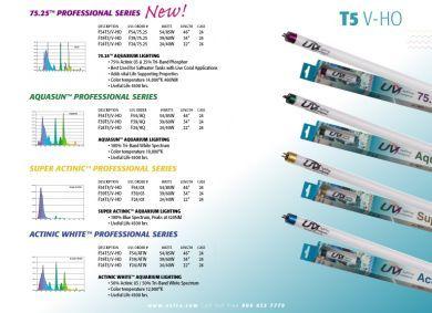 UVL 54W T5 V-HO 454nm Actinic
