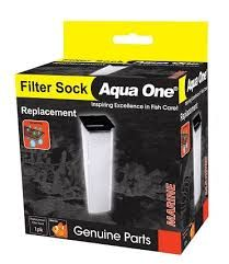 Aqua one filter sock 10cmx10cmx37cm deep