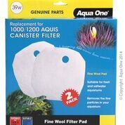 Aqua One /Aquis 1000/1200 Wool pad 2pk 39w