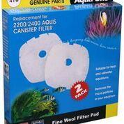 Aqua One /Nautilus 2700/Aquis 2200/2400 Wool pad 2pk 41W