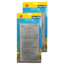 Aqua one Carbon Cartridge 2 piece set for Aquastyle 850 aquariums (4C)