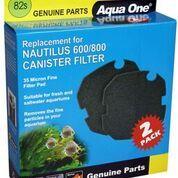 Aqua one Nautilus 600/800 Sponge Cartridge 35ppi black 82s