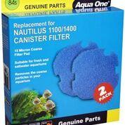 Aqua one Nautilus 1100/1400 Sponge Cartridge 15ppi blue 84s