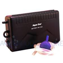 Aqua one Battery Air Pump with car adaptor