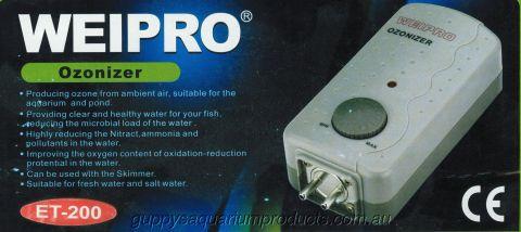 Weipro Ozonizer ET-200 (Ozone Generator)