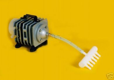 Sun Sun Electromagnetic Air Pump 85L/min x 12 outputs ACO-06